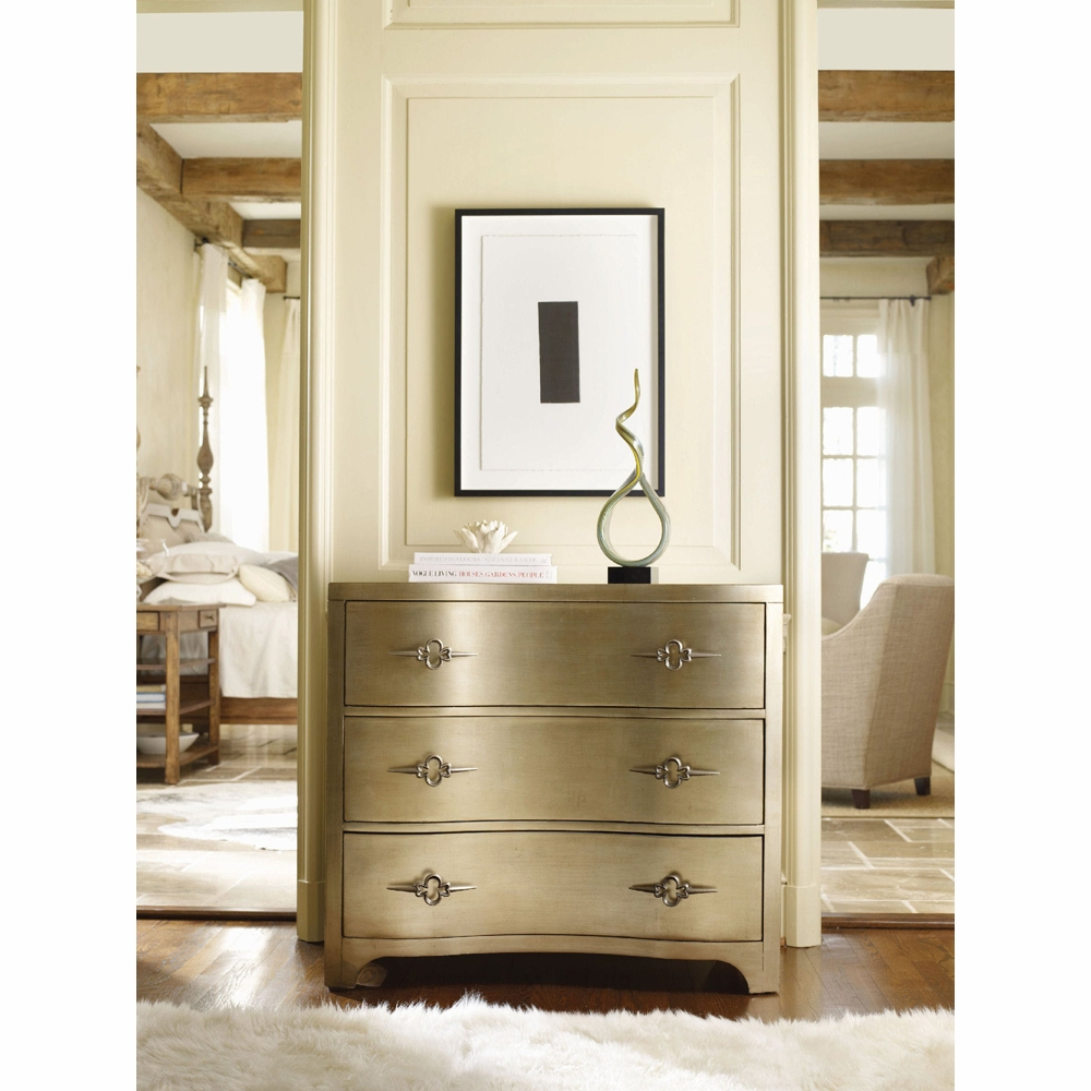 Sanctuary Three-Drawer Shaped Front