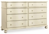 Hooker Furniture - Sandcastle Dresser - 5900-90002-WH