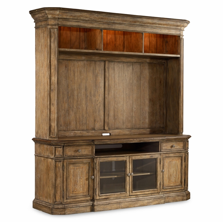 Hooker Furniture - Solana Two Piece Entertainment Group - 5291-55202