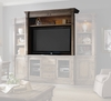 Hooker Furniture - Sorella Entertainment Console Hutch - 5107-70467