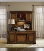 Hooker Furniture - Tynecastle Computer Credenza with Hutch - 5323-10464_10467