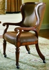 Hooker Furniture - Waverly Place Tall Back Castered Game Chair - 366-75-500
