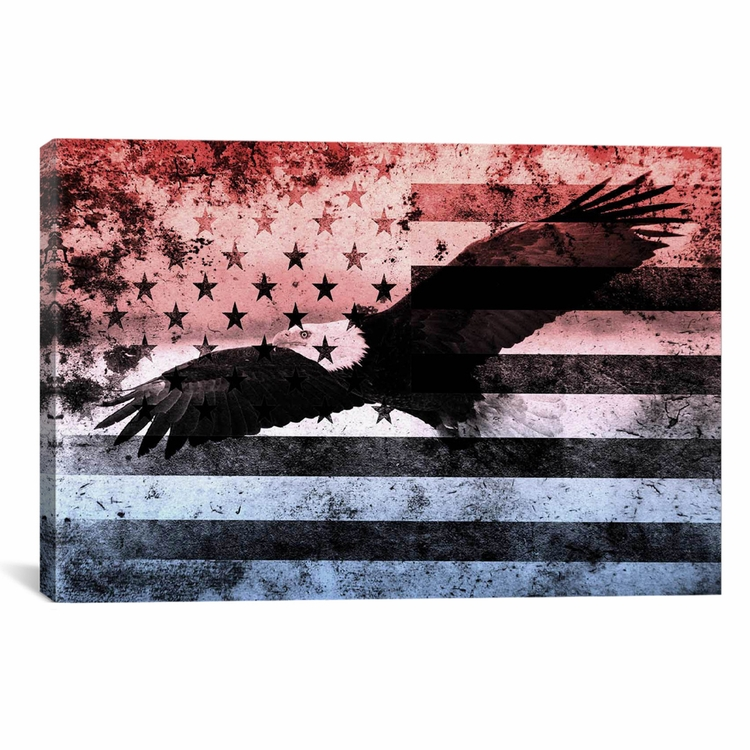 American Eagle Furniture Elizabeth New Jersey: Flags Bald American Eagle Us Flag 40 X