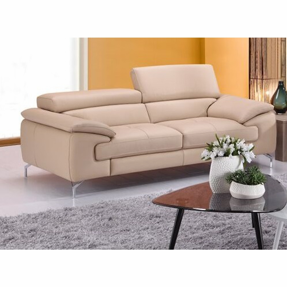 J&M Furniture - A973 Italian Leather Sofa in Peanut - 179061113-S