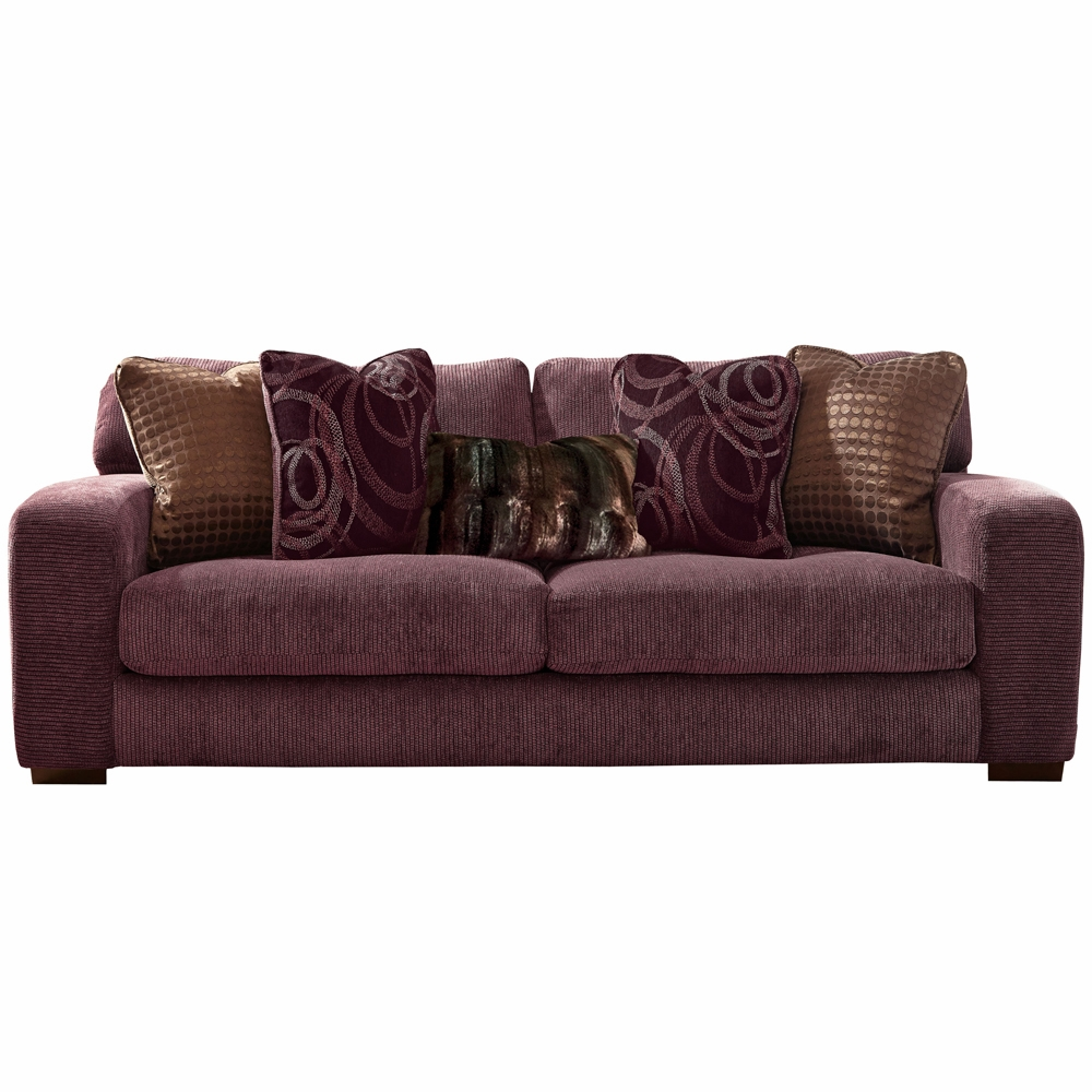 Jackson Furniture Serena Plum Sugar Plum Sofa 2276 03