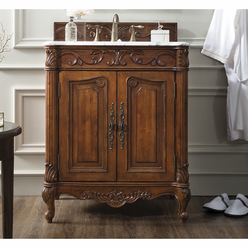 James Martin St James 30 Single Vanity Cherry 207 Sj V30 Ch