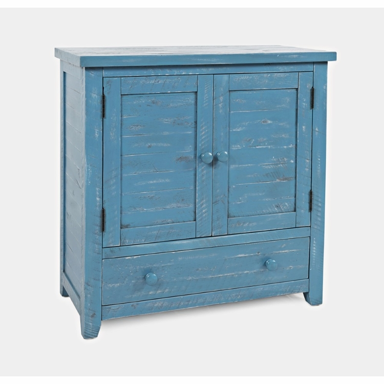 Jofran - American Folklore Accent Chest in Antique Blue - 1877-32