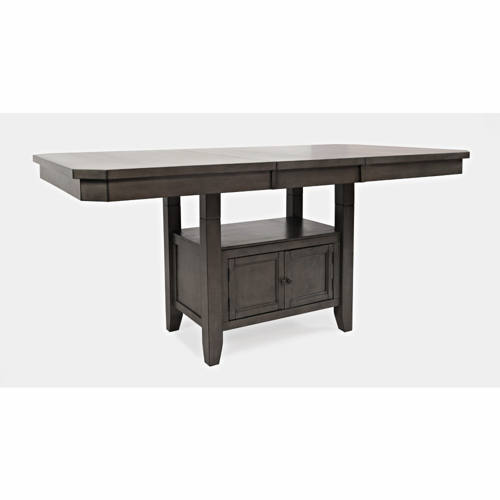 Amazing Jofran Manchester High Low Rect Dining Table In Grey 1872 78Tbkt Beatyapartments Chair Design Images Beatyapartmentscom