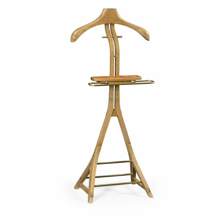 Jonathan Charles Fine Furniture - Architects House Oak Valet Stand - 495376-LWO
