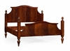 Jonathan Charles Fine Furniture - Buckingham US Queen Four Poster Mahogany Plantation Bed - 495332-USQ-MAH