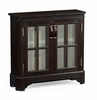 Jonathan Charles Fine Furniture - Casually Country Dark Ale Low Bookcase with Strap Handles - 491067-PDA