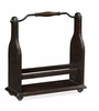 Jonathan Charles Fine Furniture - Casually Country Dark Ale Wine Bottle Holder - 491039-PDA