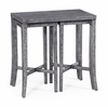 Jonathan Charles Fine Furniture - Casually Country Nesting Cocktail Tables in Antique Dark Grey - 491040-ADG
