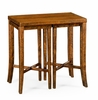 Jonathan Charles Fine Furniture - Casually Country Nesting Cocktail Tables in Country Walnut - 491040-CFW