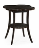 Jonathan Charles Fine Furniture - Casually Country Quatrefoil Lamp Table in Dark Ale - 491043-PDA