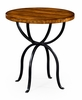 Jonathan Charles Fine Furniture - Casually Country Round Side Table in Country Farmhouse Walnut - 491072-CFW