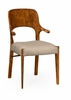 Jonathan Charles Fine Furniture - Cosmo Hyedua Armchair Upholstered in Mazo (Set of 2) - 494907-AC-DLF-F001
