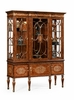 Jonathan Charles Fine Furniture - Duchess Burl and Mother of Pearl Display Cabinet - 499213-BRW-MOP