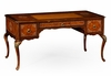 Jonathan Charles Fine Furniture - Duchess Burl and Mother of Pearl Inlaid Desk - 499403-BRW