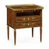 Jonathan Charles Fine Furniture - Duchess Burl and Mother of Pearl Nightstand - 495706-BAL