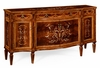 Jonathan Charles Fine Furniture - Regency Large Side Cabinet with Fine Mop and Marquetry inlay - 499342-MAM