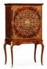 Jonathan Charles Fine Furniture - Regency Mahogany and Mother of Pearl Drinks Cabinet - 499513-MAM