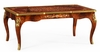 Jonathan Charles Fine Furniture - Regency Mahogany Rectangular Coffee Table with Brass Details - 499508-MAM