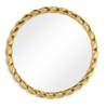 Jonathan Charles Fine Furniture - Twist 45'' Gilded Twisted Mirror - 495076-45D-GIL