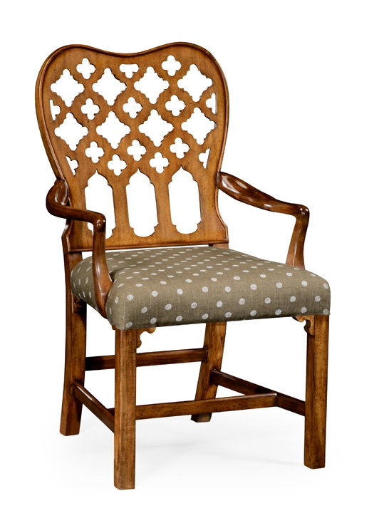 Jonathan Charles Fine Furniture William Yeoward Uptown Classic Kingsley Grey Fruitwood Armchair Set Of 2 530082 Ac Gfa