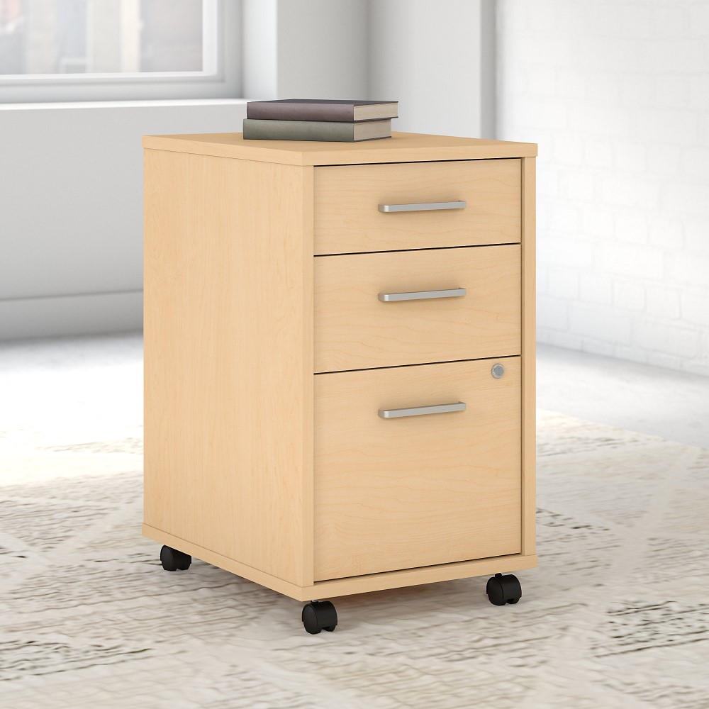 Kathy Ireland Office - Method 3 Drawer Mobile File Cabinet ... on Natural Maple Cabinets  id=91034