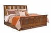 Kincaid Furniture - Cherry Park Sleigh Bed Queen - 63-150PV