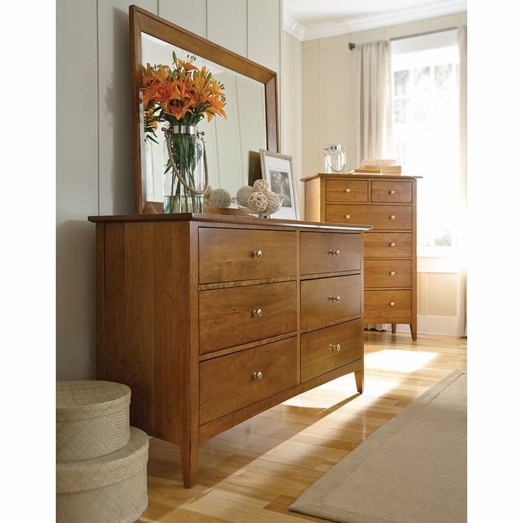 Kincaid Furniture - Gatherings Latham Dresser and Mirror - 44-0911_1410
