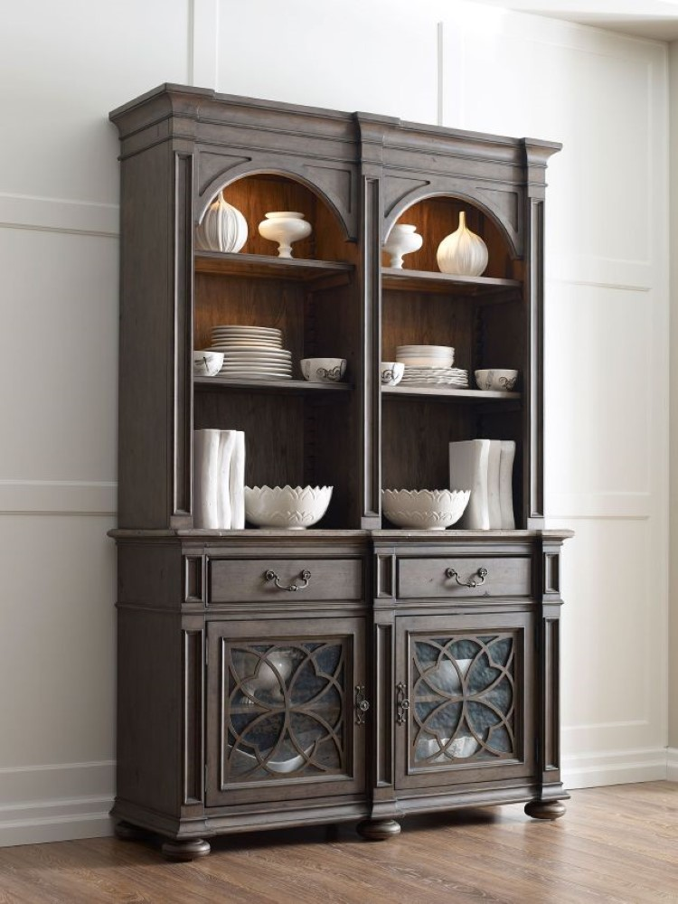 Kincaid Furniture Greyson Harper Buffet With Hutch 608