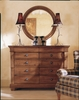 Kincaid Furniture - Tuscano Drawer Dresser & Round Mirror - 96-163V_112V