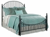 Kincaid Furniture - Weatherford Heather Catlins Metal Bed Queen - 76-125P