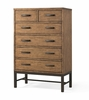 Klaussner - Affinity Drawer Chest In Brown - 12013370988
