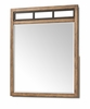 Klaussner - Affinity Mirror In Brown - 12013370964
