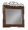 Klaussner - San Marcos Square Dresser Mirror In Brown - 12013125922