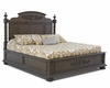 Klaussner - Versailles Complete King Bed In Brown - 12013369777