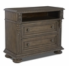 Klaussner - Versailles Media Chest In Brown - 12013370827