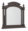 Klaussner - Versailles Mirror In Brown - 12013367698