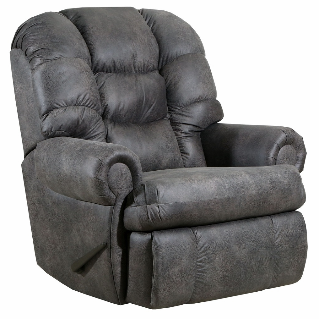 Lane Furniture Dorado Charcoal Rocker Recliner 4501 19