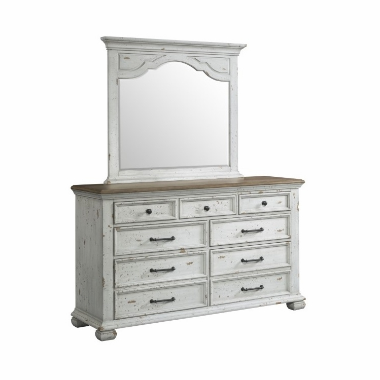 Lane Furniture Vintage Revival Dresser Mirror 1053 10 20