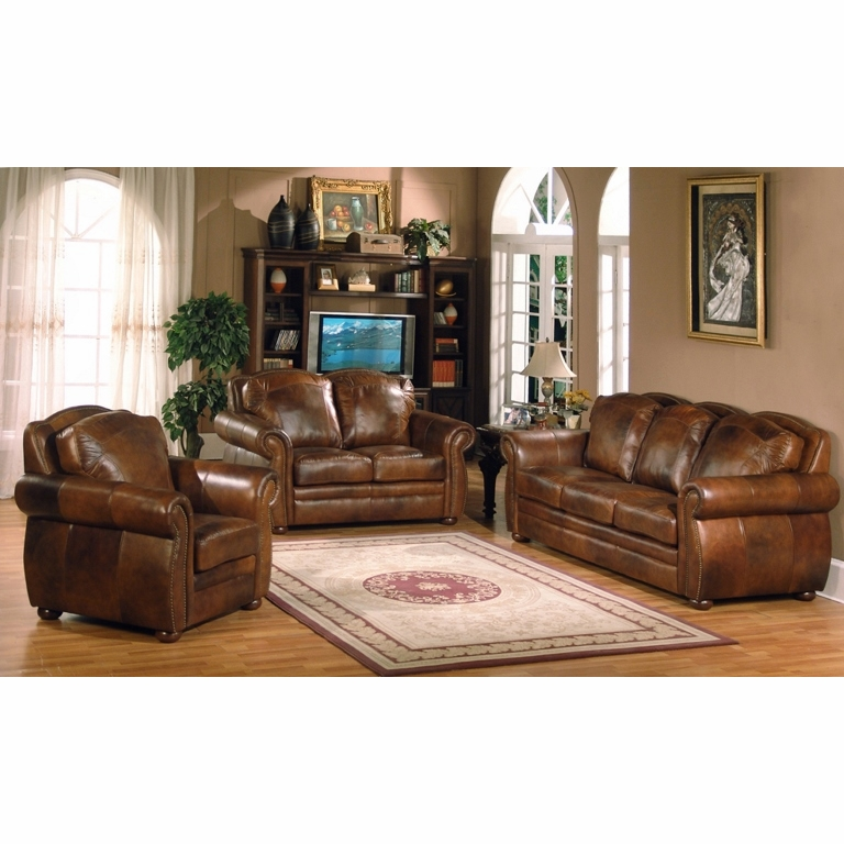 Leather Italia Usa - 6110 Arizona 3 Piece Sofa Set 04234 Marco ...