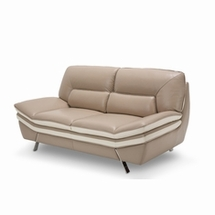 Leather Loveseats by AICO