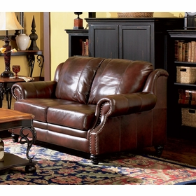 Leather Loveseats by Coaster