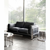 Leather Loveseats by Diamond Sofa