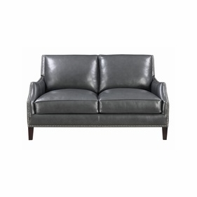 Leather Loveseats by Emerald Home Furnishings