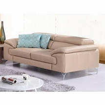 Leather Loveseats by J&M Furniture