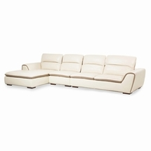 Leather Sectional Sofas by AICO